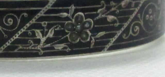 Silber-Armreif mit Perlchen